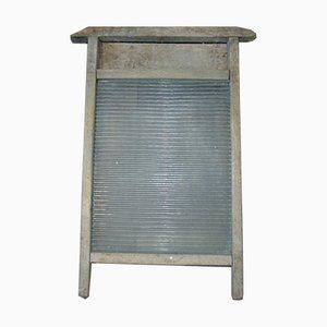 Pre-War Wood & Glass Washboard