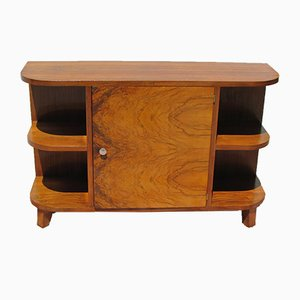 Art Deco Walnut Console from Bibus