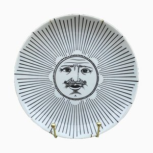 Vintage Plate by Piero Fornasetti