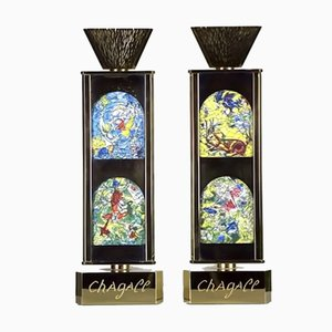 Limited Series 27/300 Candlesticks by Marc Chagall