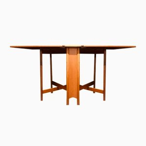Mid-Century Teak Folding Table by Tom Robertson for McIntosh, 1960s