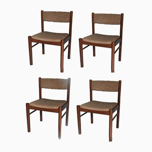 Vintage Danish Teak Dining Chairs from Farstrup Møbler, 1960s, Set of 4