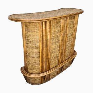 Mobile bar in bambù