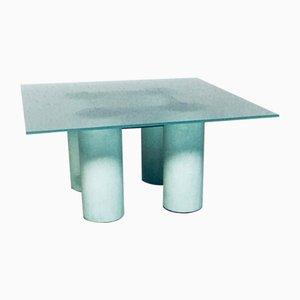 Viereckiger Square Serene Esstisch von Lella & Massimo Vignelli für Jolly, Italy, 1980
