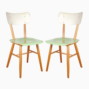 Mid-Century Side Chairs from TON, 1972, Set of 2