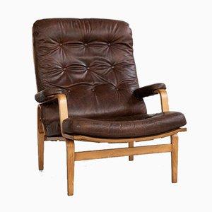 Schwedischer Sessel von Bruno Mathsson für DUX, 1960er