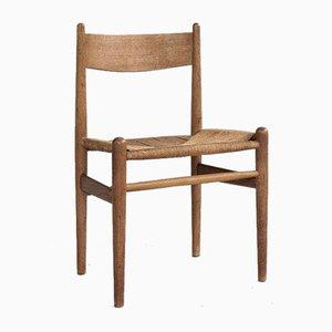 Danish CH36 Chair in Oak by Hans Wegner for Carl & Søn