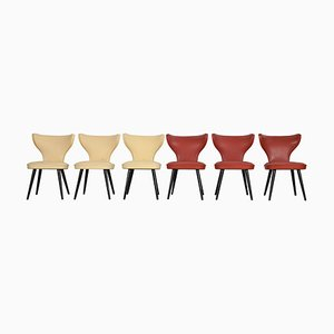 Chairs from Thonet, 1950s, Set of 6