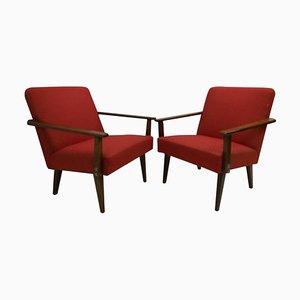 Armlehnstühle von Ton, 1960er, 2er Set