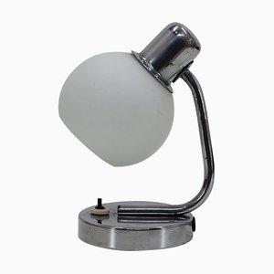 Bauhaus Table Lamp, Czechoslovakia, 1940s