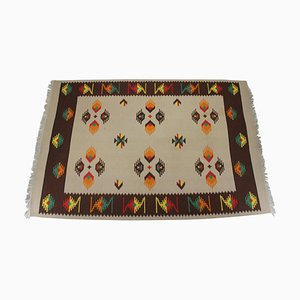 Tappeto Kilim Mid-Century di lana, anni '60
