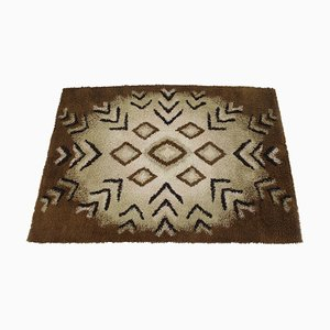 Abstract Wool Carpet, Denmark, 1960s