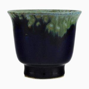 Small Vase in Glazed Ceramics by Carl Harry Stålhane for Designhuset
