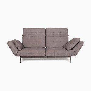 Mera 2-Sitzer Sofa in Grau von Rolf Benz