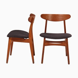 CH30P Dining Chairs by Hans J. Wegner for Carl Hansen & Son, Set of 2