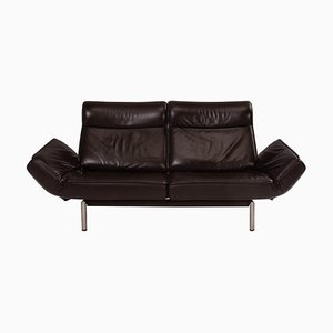 DS-450 Brown Leather Sofa by Thomas Althaus for de Sede