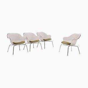 Weiße Luta Stühle von Antonio Citterio für B & B Italia, 2004, 4er Set