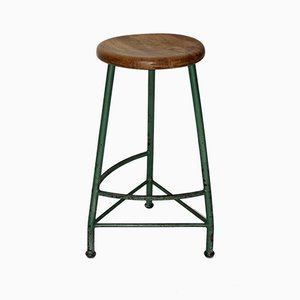 Viennese Industrial Tripod Stool from Kromus, 1950s