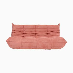 Togo Large Pink Sofa by Michel Ducaroy for Ligne Roset