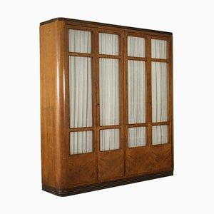 Mobiletto impiallacciato in legno, anni '40