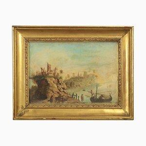 Coastal Landscape with Figures