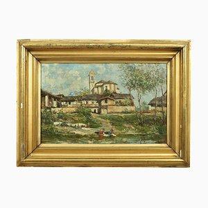 Luigi Zinelli, Oil on Canvas