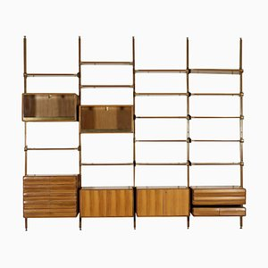 Wall Unit Library, 1950s