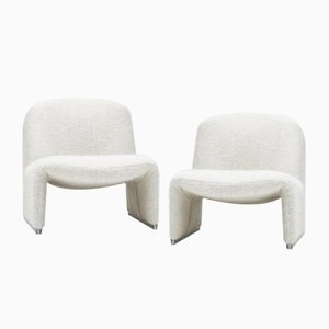 Alky Chairs by Giancarlo Piretti for Artifort, 1970s, Set of 2