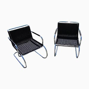 Bauhaus Sessel von Franco Albini für Tecta, 1970er, 2er Set