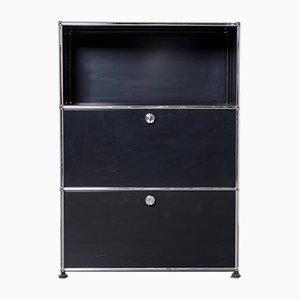 Black System Cabinet from USM Haller