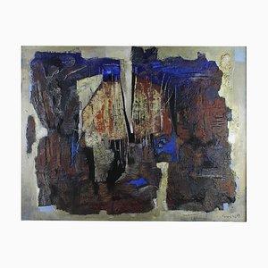 """Senza titolo, Hans Vincent, 1963, """"Mixed media on Canvas"""""""