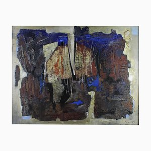 Untitled, Hans Vincent, 1963, Mixed Media on Canvas