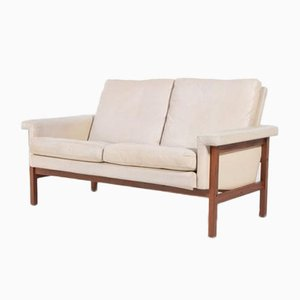 Mid-Century Danish Architectural Two Seater Sofa, 1960s