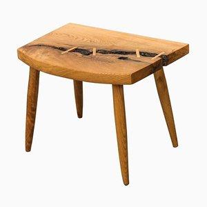Beistelltisch mit Tischplatte aus weißer Eiche Wurzel von Michael Rozell, USA, 2021