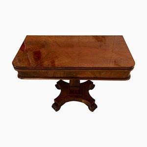 19th Century Antique William IV Mahogany Tea Table