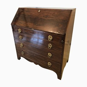 Bureau Antique George III en Acajou