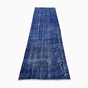 Turkish Narrow Wool Vintage Rug