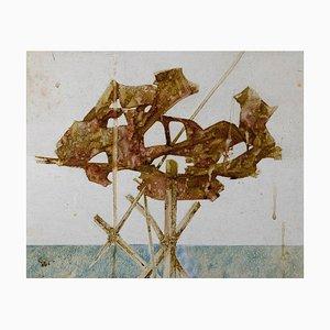 Peinture à l'Huile sur Toile par Leo Guida, Untitled, 1970s