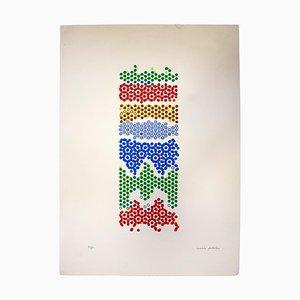 Mario Padovan, Precious Reflections, Original Screen Print, 1970s