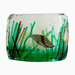 Italienisches Murano Glas Aquarium von Riccardo Licata für Gino Cenedese, 1960er