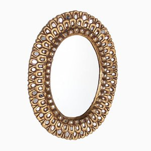 Golden Mirror in the Style of Vautrin Line
