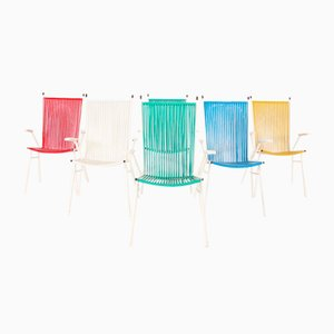 Scoubidou Garden Chairs, Set of 6