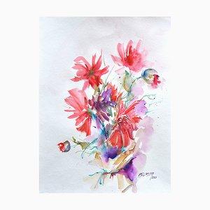 Liliane Paumier, Fleurs, 1, 2020
