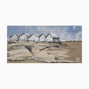 Michèle Kaus, The Beach Huts, 2019