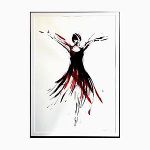 Marcela Zemanova, Black and Red II, 2020