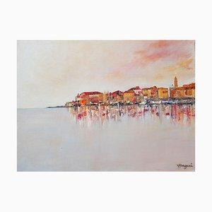 Valérie Dragacci, Sirocco sur la baie d'Ajaccio, 2021