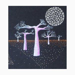Michèle Magnien (Mileg), Les arbres de la lune, 2020