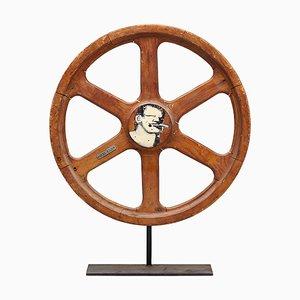 Sculptural Wheel by Robert Loughlin, 2005