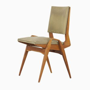 French Dining Chairs by Maurice Pre, 1950s, Set of 6