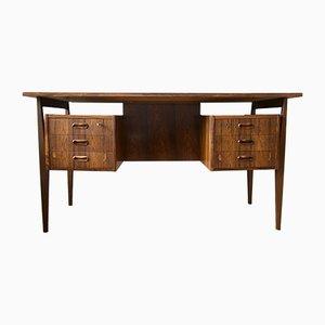 Dänischer Palisander Schreibtisch von Gunnar Nielsen für Tibergaard, 1960er